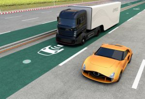 self-driving truck image